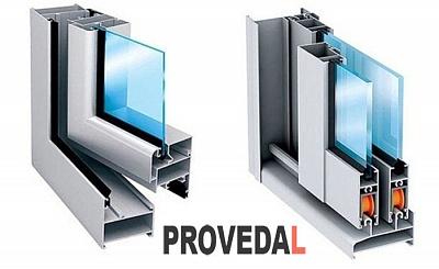 Остекление балконов системы ПРОВЕДАЛ (PROVEDAL)